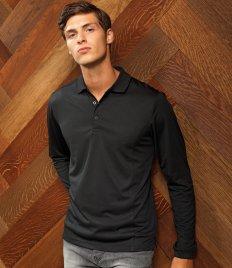 Polyester Polos - Long Sleeve