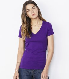 Ladies T-Shirts - V Neck