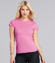Ladies T-Shirts - Crew Neck
