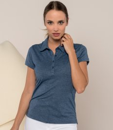 Poly/cotton Polos - Ladies Jersey Knit